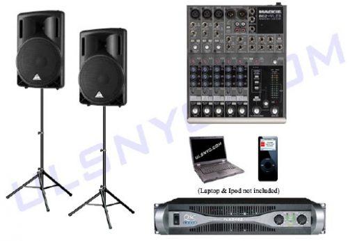 Speaker & Microphone Rental