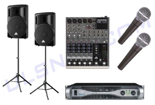 Speaker and Microphone Rental