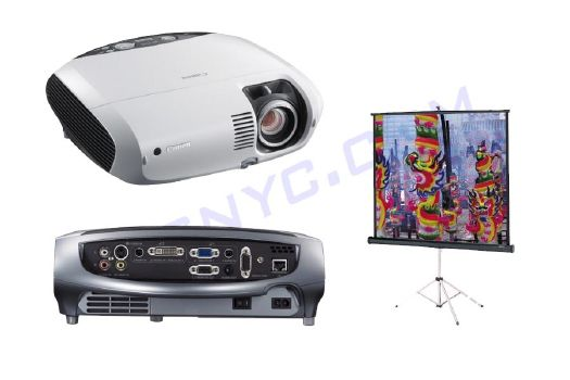 Projector and Screen Package Rental
