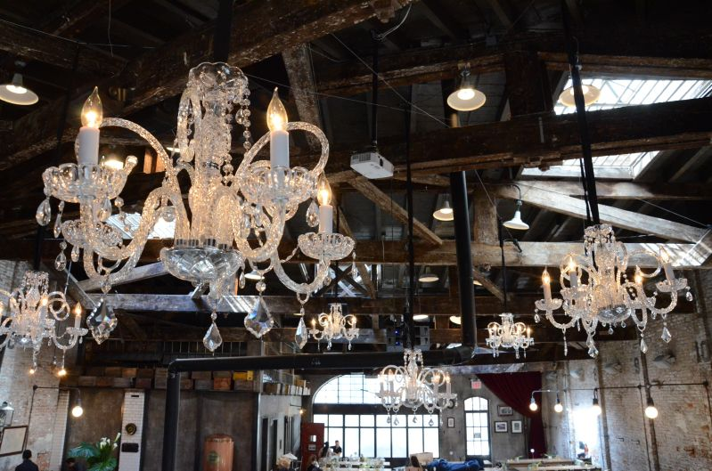 The Houston Hall (New York, NY) - Crystal Chandeliers