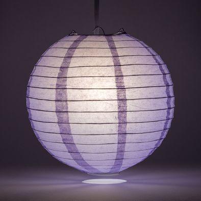 Lavender Round Paper Lantern Rental
