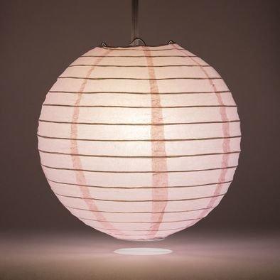 Pink Round Paper Lantern Rental