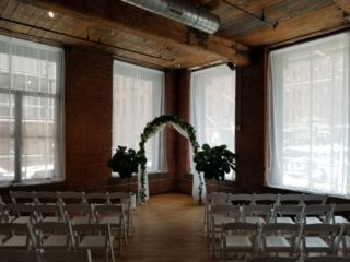 The Dumbo Loft (Brooklyn, New York) - Sheer Curtains suspended in each window