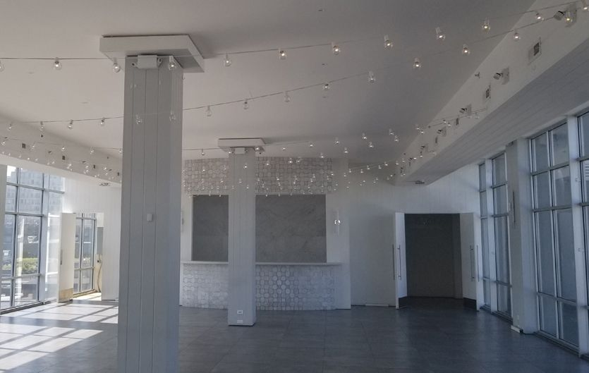 The W-Loft (Brooklyn, New York) - String Lights suspended in Main Room