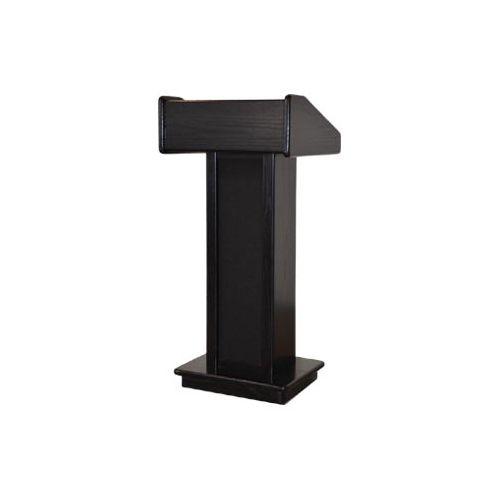 Sound-Craft Systems LC Executive Wood Podium Lectern (Black)