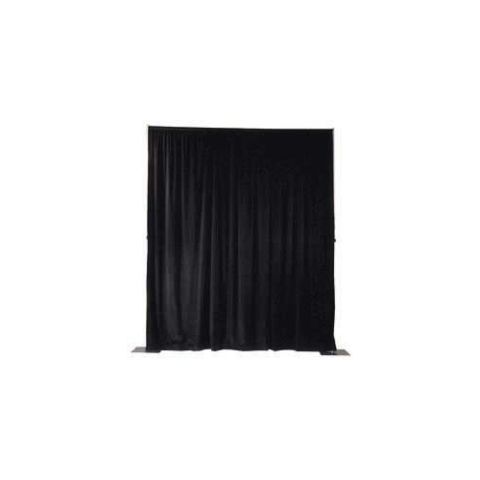 10ft(w) x 12ft(h) Pipe and Drape Panel (Black)