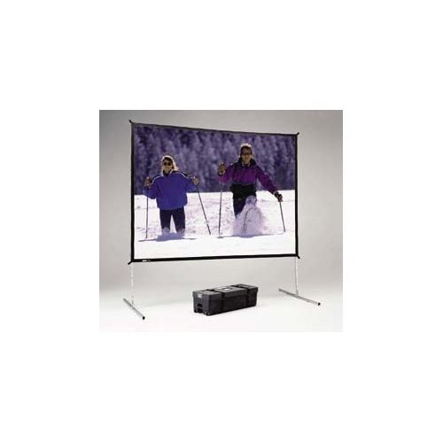 Da-Lite Fast Fold (Front) Projector Screen w 7.5' x 10' DA-MAT Surface