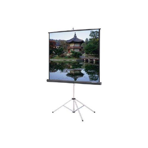 DA-Lite 84x84 High Gain (2.5) Tripod Projector Screen