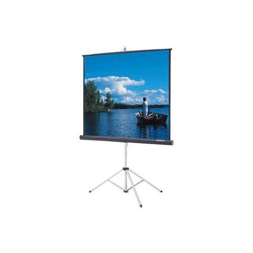DA-Lite 60x60 High Gain (2.5) Tripod Projector Screen