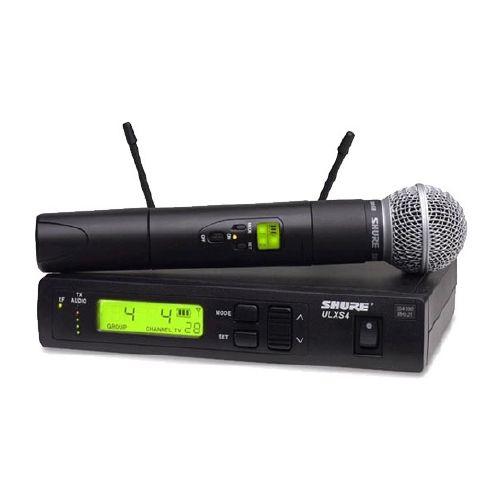 Shure ULXS2458 Professional Wireless handheld trasmitter and reciever