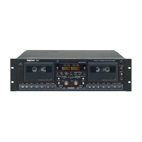Tascam 322 Dual Cassette Deck
