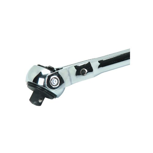 Quick Release Swivel Head Ratchet with 15-16 X 1-2 Drive Deep Wall Impact Socket