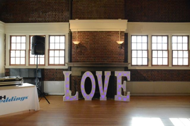 Eliminator Decor Love 45-Inch Tall RGB LED Letters