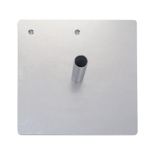 Steel 35 lbs Base Plate with Pin