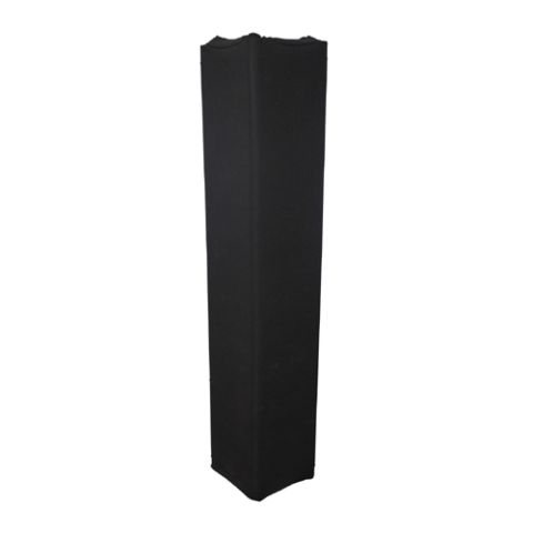 Black Spandex Lycra Cover Sleeve for 12 Inch Box Truss