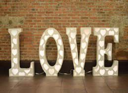 Love Marquee Letters Rental