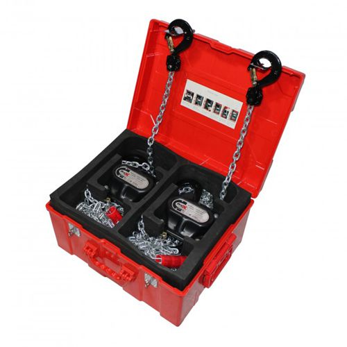 proX XT-MCH1TX2-30FT 1 Ton Manual Chain Hoist with 30 foot Chain