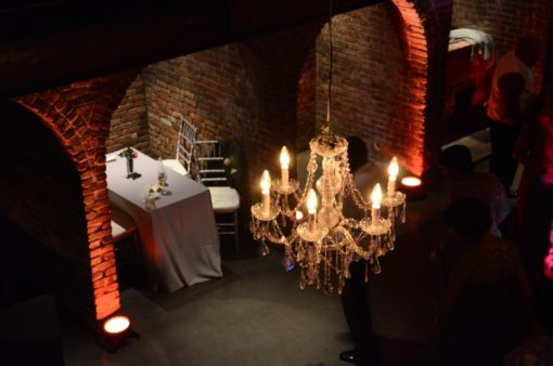 Chandeliers - The Foundry - Uplighting