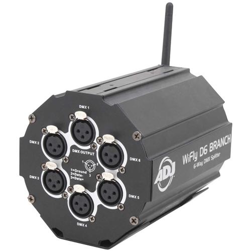 ADJ American DJ WiFLY D6 Branch Wireless DMX Splitter