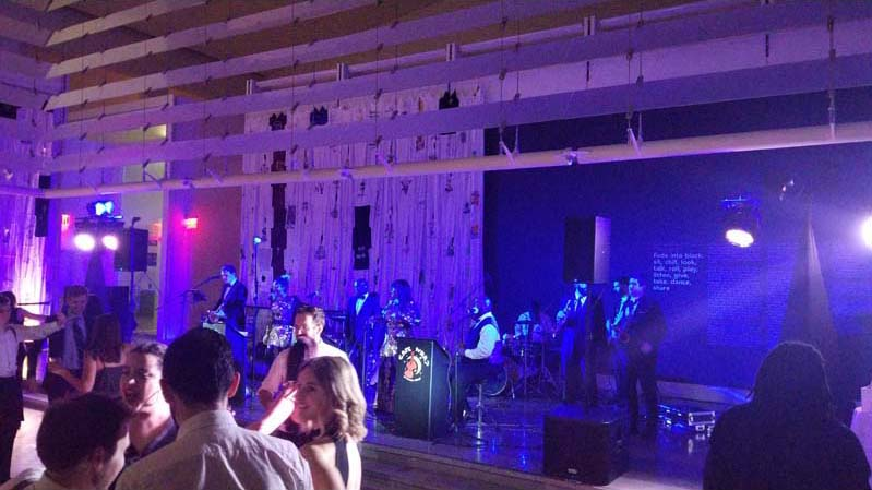 The Queens Museum - Band and Dance Floor Intelligent Lighting