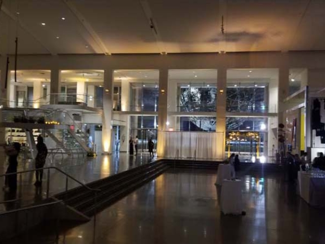 The Queens Museum - Uplighting