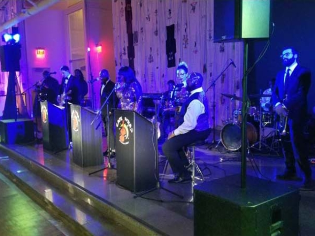 The Queens Museum - Band Lighting