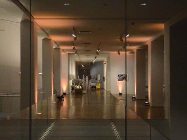 The Queens Museum - Up-Lighting
