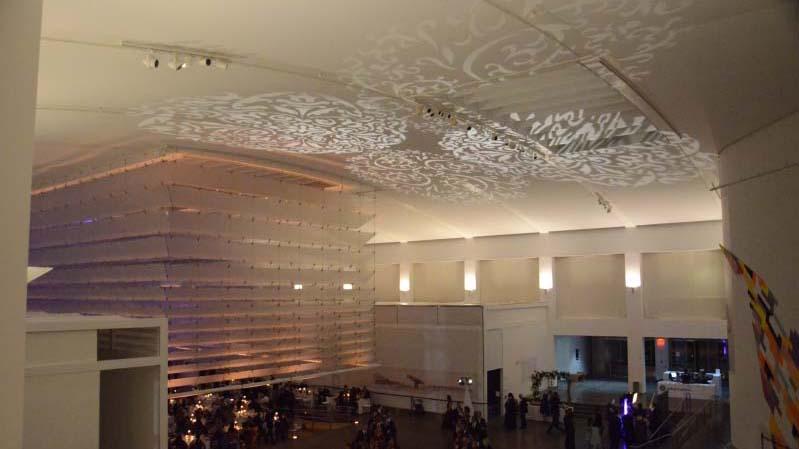 The Queens Museum - Up-Lighting - Stock Gobo