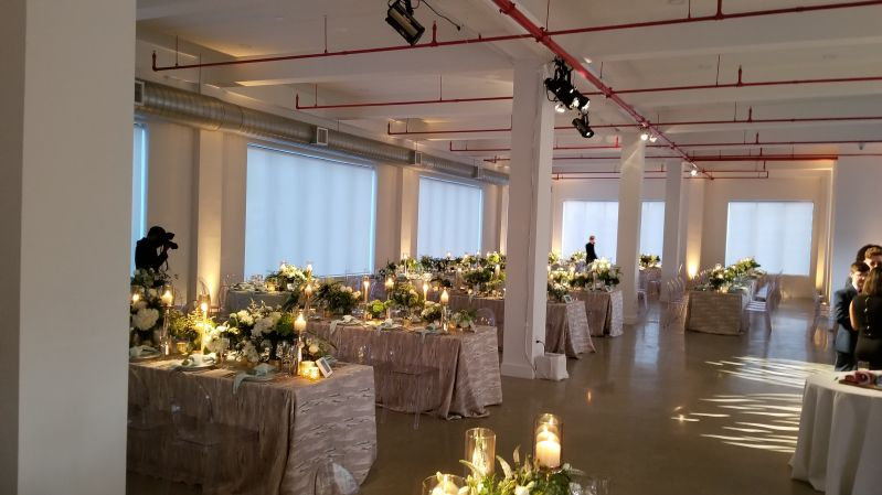 The Bordone - Up-Lights & Pin-Spots and Spotlights in main room on 3rd Floor