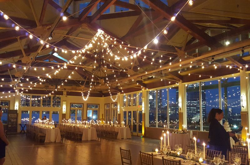 The Liberty House Restaurant - String Lights