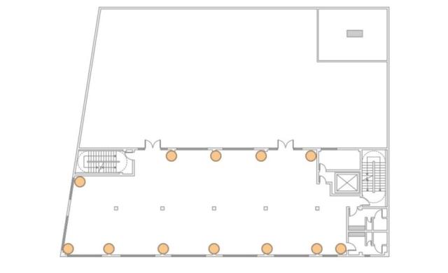 The Bordone LIC - 3rd Floor - 12 Up-Lighting Floor Plan