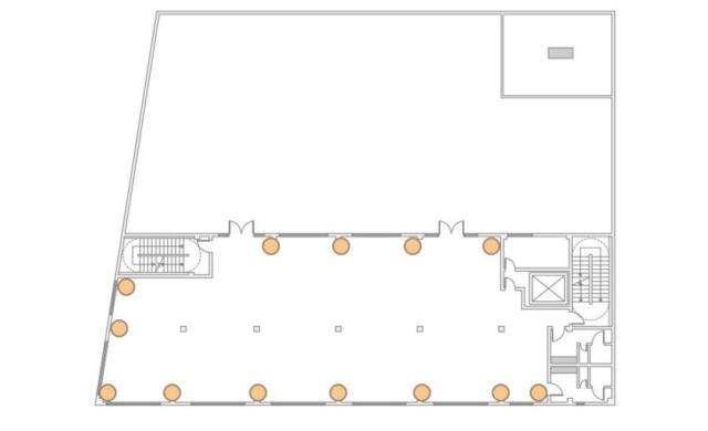 The Bordone LIC - 3rd Floor - 13 Up-Lighting Floor Plan