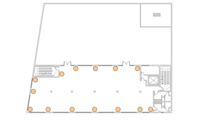 The Bordone LIC - 3rd Floor - 14 Up-Lighting Floor Plan