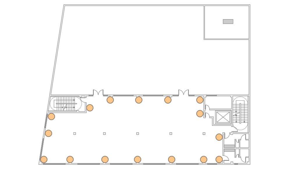 The Bordone LIC - 3rd Floor - 16 Up-Lighting Floor Plan