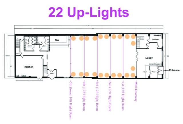26 Bridge (22 Up-Lights)