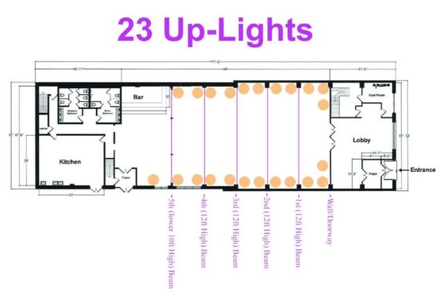 26 Bridge (23 Up-Lights)